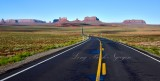 Monument Valley from Forrest Gump Hill on Highway 163 Navajo Nation Utah 027