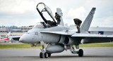F-18  at Clay Lacy Aviation Seattle 011