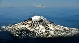 Mt Adams Mt Hood Mt Jefferson Three Sisters Cascade Mountain Range 014