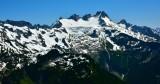Dome Glacier and Dome Peak Cascade Mountains Washington 117