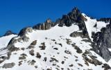 Hole in Spire Point on Dome Peak Washington 169