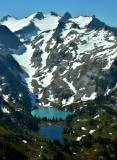 No Name Lake Jade Lake Mount Hinman Washington 041