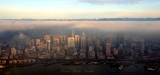 Seattle under strong temperature inversion 178