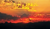 Sunrise over Cascade Mountains 007