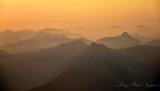 Golden Sunset on Central Cascade Mountains Washington 085