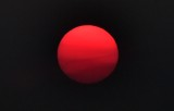 The Sun with smoke 494