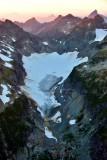 Columbia Glacier between Columbia Peak and Kyes Peak Sloan Peak Bedal Peak Washington 260