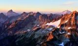 Wilmans Peak Sloan Peak Glacier Peak Washington 203
