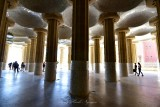 The Hypostyle Room at Park Guell Barcelona Spain 270