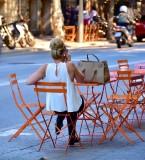 Stylist Lady in Barcelona Spain 050