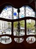 Casa Batllo Front Window  Barcelona Spain 087