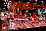 Butcher Shop in La Boqueria Barcelona 453