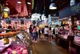 Shop in La Boqueria Barcelona Spain 459a