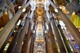 La Sagrada Familia Interior Barcelona Spain 059