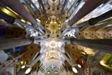 La Sagrada Familia Ceiling  Barcelona Spain 134