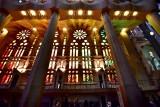 La Sagrada Familia Interior Barcelona Spain 083