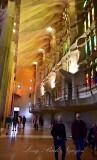 La Sagrada Familia Interior Barcelona Spain 294