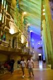 La Sagrada Familia Interior Barcelona Spain 253