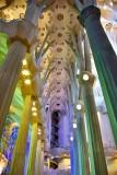 La Sagrada Familia Interior Barcelona Spain 248
