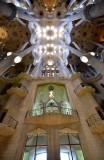La Sagrada Familia Interior Barcelona Spain 077
