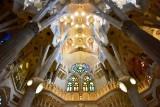 La Sagrada Familia Ceiling  Barcelona Spain 241