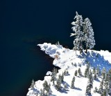Checking out the lake Cascade Mountain 662