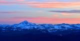 Glacier Peak at Sunrise Washington 030