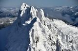 Gunn Peak in Cascade Mountains Index Washington 1120