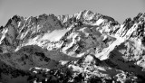 Mount Anderson and Anderson Glacier Olympic Mountains 671bw