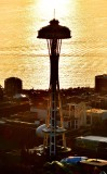 Space Needle at Sunset 058a