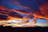 Sunset in Denver Colorado 045
