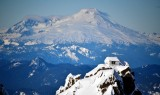Three Fingers Lookout and Mt Baker in background 870