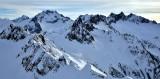 Spire Point Spire Glacier Dome Peak Dana Glacier North Cascade Mountains Washington 322