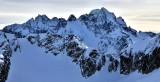 Mix-Up Peak, Magic Mountain, Mount Formidable,  Middle Cascade Glacier, Spider Mtn and Spider Glacier, North Cascade Mountains