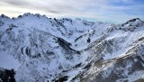 Blue Mtn, Sinister Peak, Dome Peak, Chickamin Glacier, Dana Glacier, Spire Point, Sentinel Peak 438