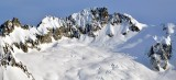 Boston Peak, Quien Sabe Glacier, Boston Basin and Creeks, North Cascade National Park, Washington 645