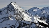 Johannesburg Mountain and Glacier, Mt Formidable and Spider Mountain, North Cascade Mountains 652