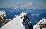 Three Fingers Lookout and Mt Baker Washington  871
