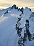 Spire Point and Spire Glacier North Cascade Mountains Washington 392