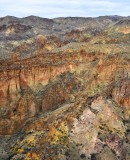 Painted Canyon near Lake Owyhee Idaho 131