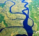 Ochlockonee River and Grass Island  Ochlockonee Florida 161 aka Woodstock