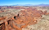 Stvens Canyon Waterpocket Fold Henry Mountains Little Rockies Utah 595a