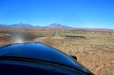 Final approach into Bullfrog Basin airport Utah 740