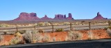 Monument Valley Tribal Park from Monument Valley airport Goulding Utah-Arizona 857