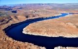 Glen Canyon Dam Lake Powell Antelope Island Manson Mesa Page Arizona 078