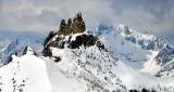 Peaks on Fourth of July Basin and Bonanza Peak North Cascades Mountain Washington 259