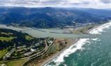 Doyle Point Wedderburn Bridge Rogue River Gold Beach and airport Oregon 462