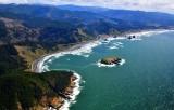 Cape Sebastian, Hunters Cove, Hunters Island, Cave Rock, Oregon Coast Highway 101 , Pistol River, Oregon 487
