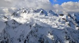Chickamin Glacier on Sinister Peak and Dome Peak North Cascades Mountain Washington 330