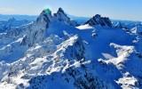 Overcoat Peak and Chimney Rock Mt Rainier Central Cascade Mountains of Washington 428